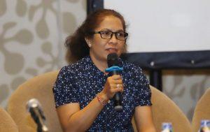 Ni Luh Erniyati, salah satu korban bom Bali bercerita tentang pedihnya kehilangan suami atas bom Bali. (Dery Ridwansyah/JawaPos.com)