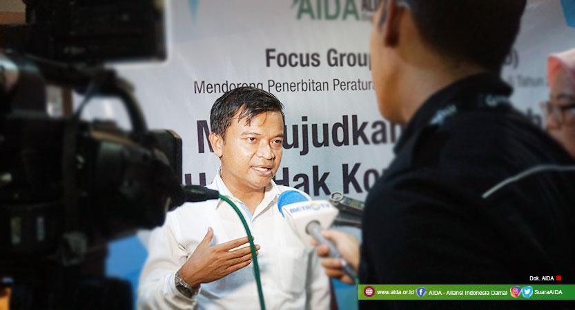 Direktur Aliansi Indonesia Damai (AIDA), Hasibullah Satrawi