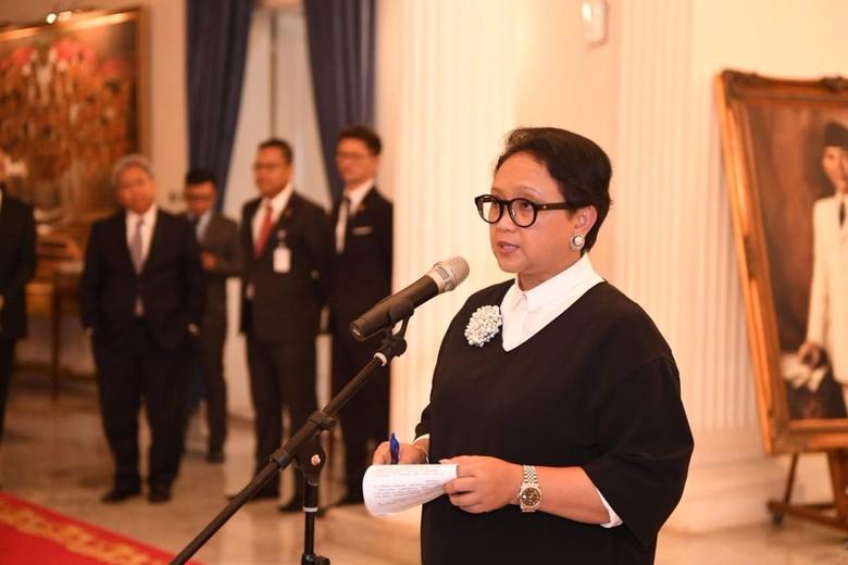 Menlu Retno Marsudi (Dok Twitter Kementerian Luar Negeri)