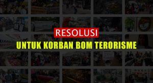 Resolusi Untuk Korban Terorisme