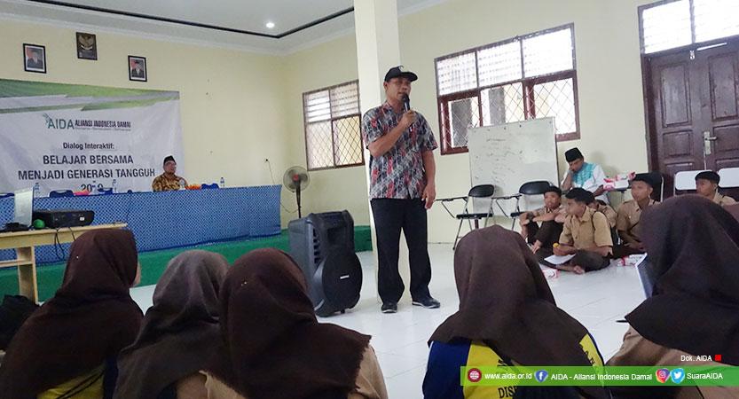 Wayan Sudiana, Penyintas Bom Bali 2002, Berbagi Semangat Ketangguhan Bersama Siswa SMKN 5 Kota Serang, Banten