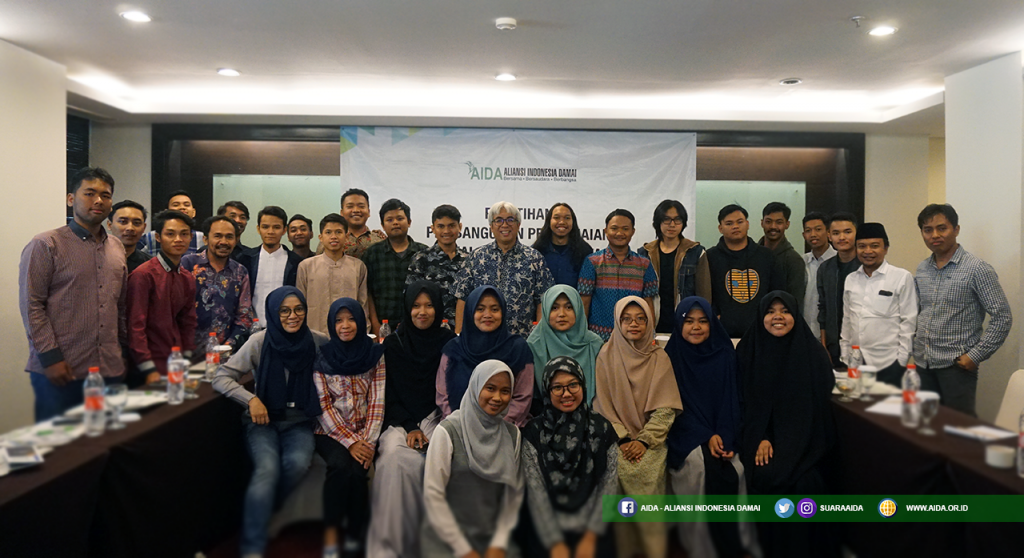 Pelatihan Pembangunan Perdamaian di Kalangan Mahasiswa di Bandung pada 6-7 April 2019